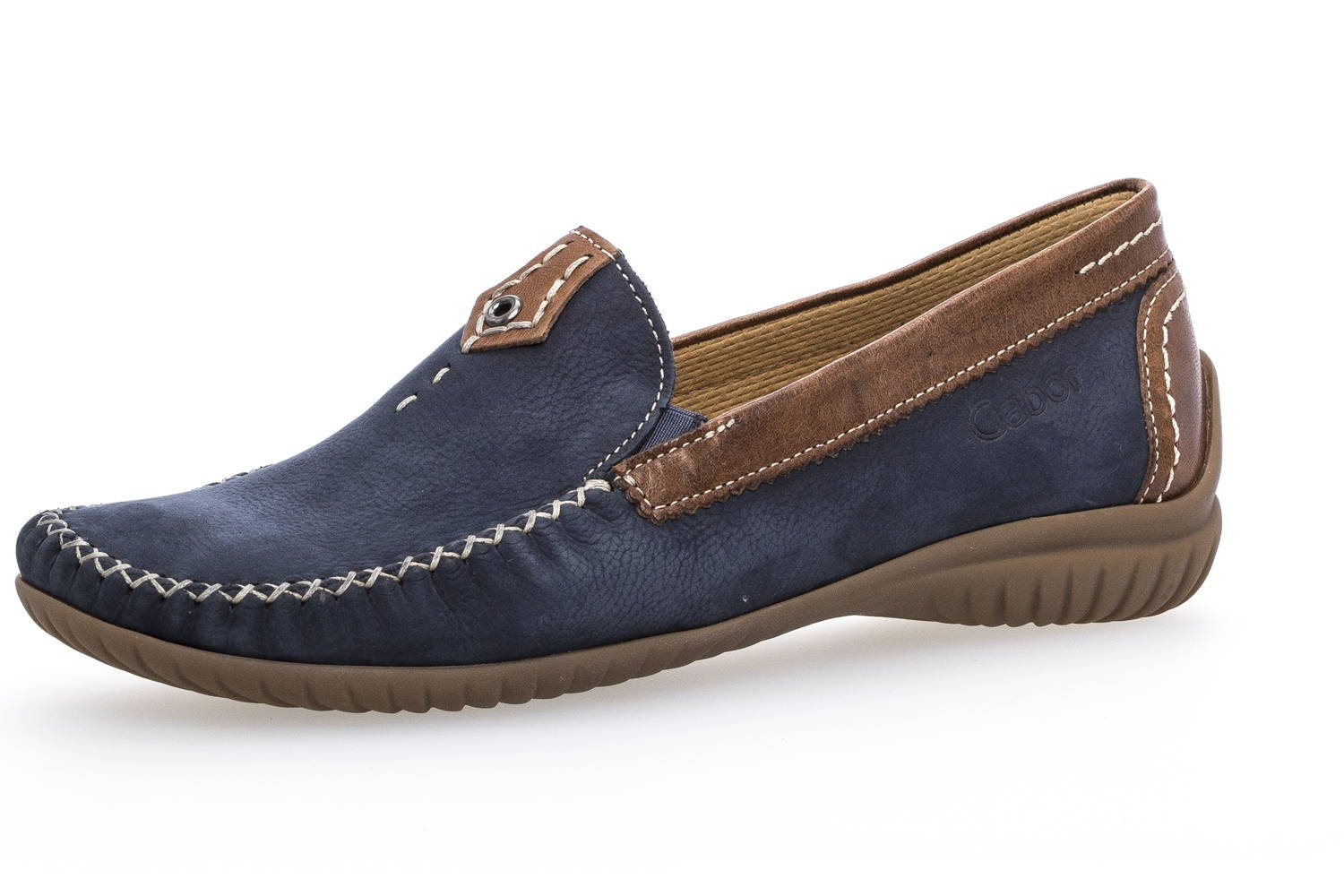 Gabor Damen Comfort Basic Navy/Copper Slipper Navy/Copper Basic 56d3f6