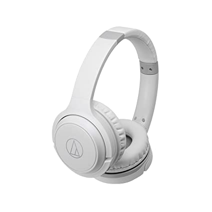 f51fa284b4b Amazon.com: Audio-Technica ATH-S200BTWH Bluetooth Wireless On-Ear Headphones  with Built-In Mic & Controls, White: AUDIO-TECHNICA: Electronics