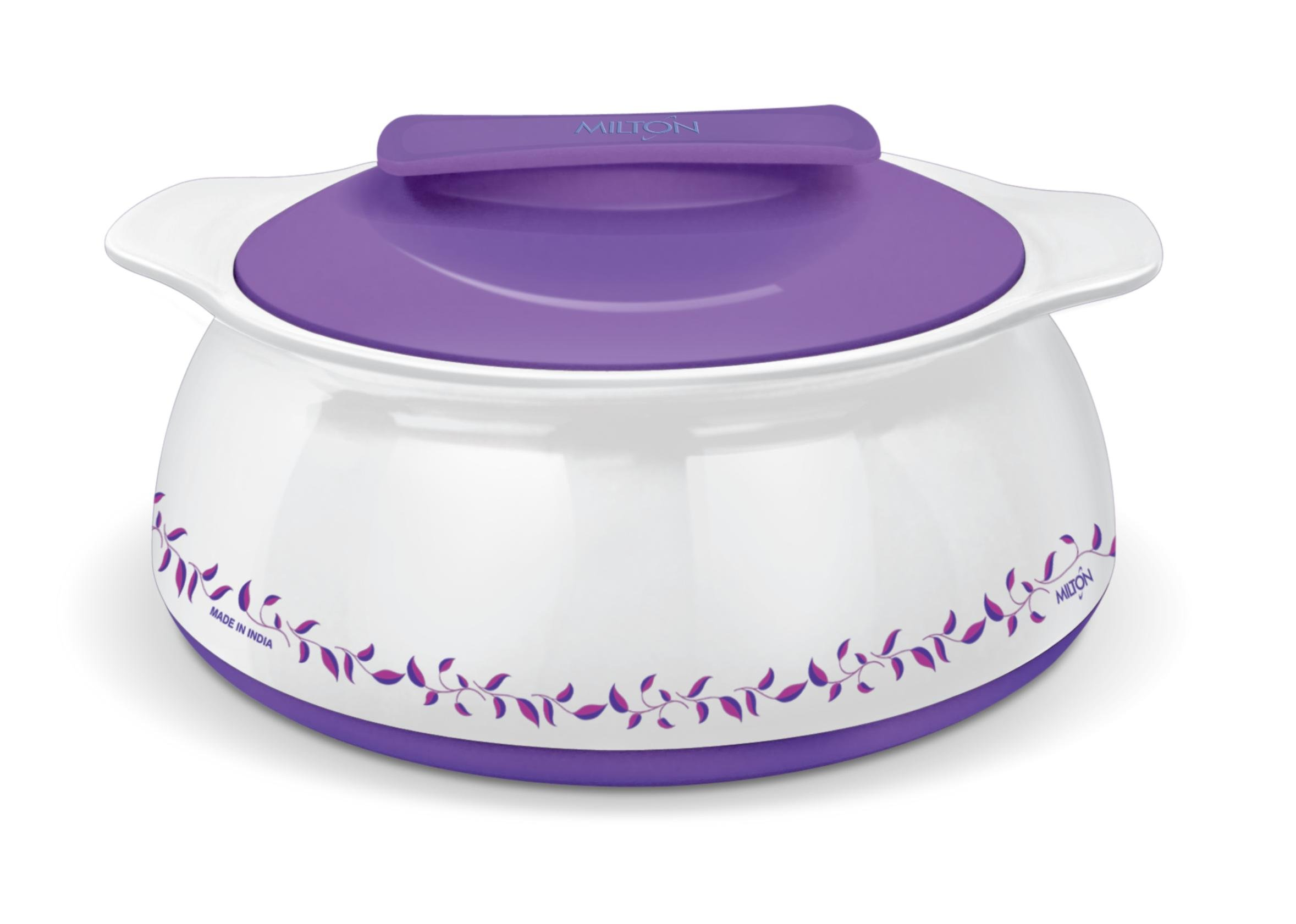 Milton Exotique Insulated Hot-pot Food Server Casserole with Stainless Steel Insert Keeps Food Warm/cold for Hours - 1.5 Lt