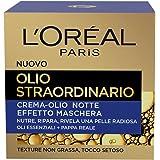 L'Oréal Paris Olio Straordinario Crema-Olio Effetto Maschera Notte, 50 ml