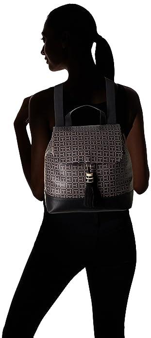 799115b4a1d Amazon.com: Tommy Hilfiger Women's Grace Logo Backpack, Black/Pepper: Shoes