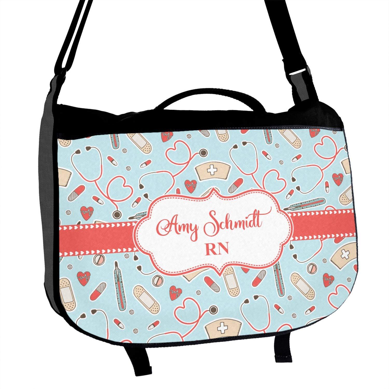 Nurse Messenger Bag Personalized