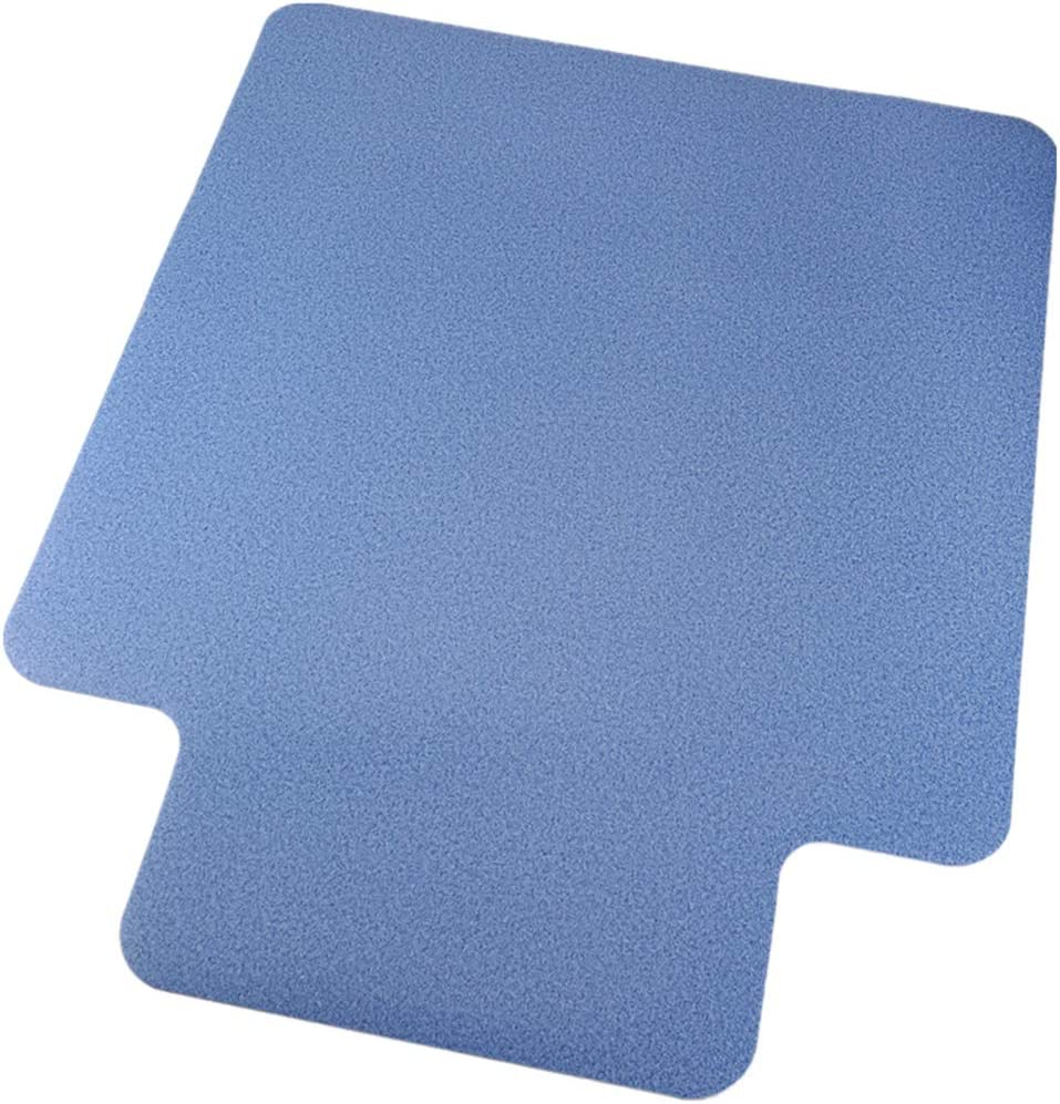 "MPLEYE Office Chair Mat for Hardwood Floor and Tile Floor 38""×48""1/8"" with Lip Flat Without Curling Floor Mats for Computer Desk"