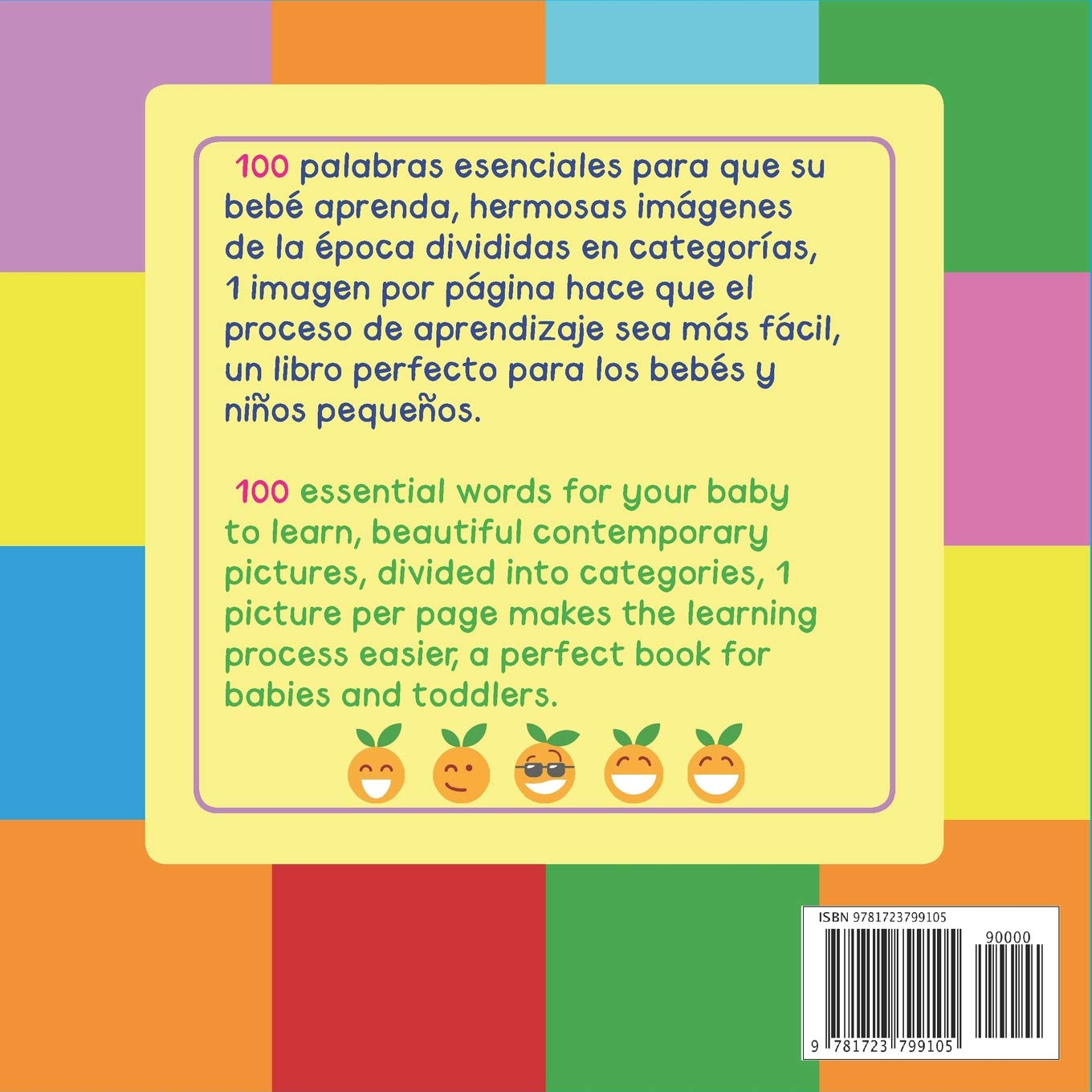 First 100 Essential Words Bilingual Spanish English (Spanish Edition): Mary King: 9781723799105: Amazon.com: Books