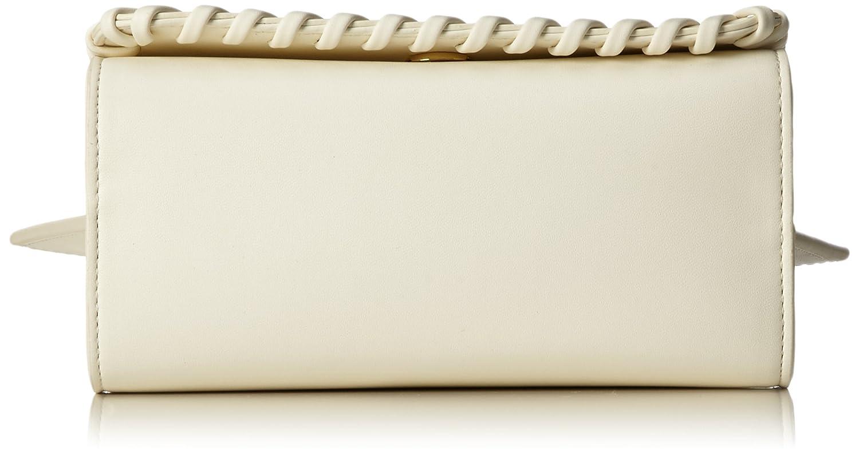 Borsa Calf Pu Avorio, Womens Baguette, Beige (Ivory), 14x23x9 cm (B x H T) Love Moschino