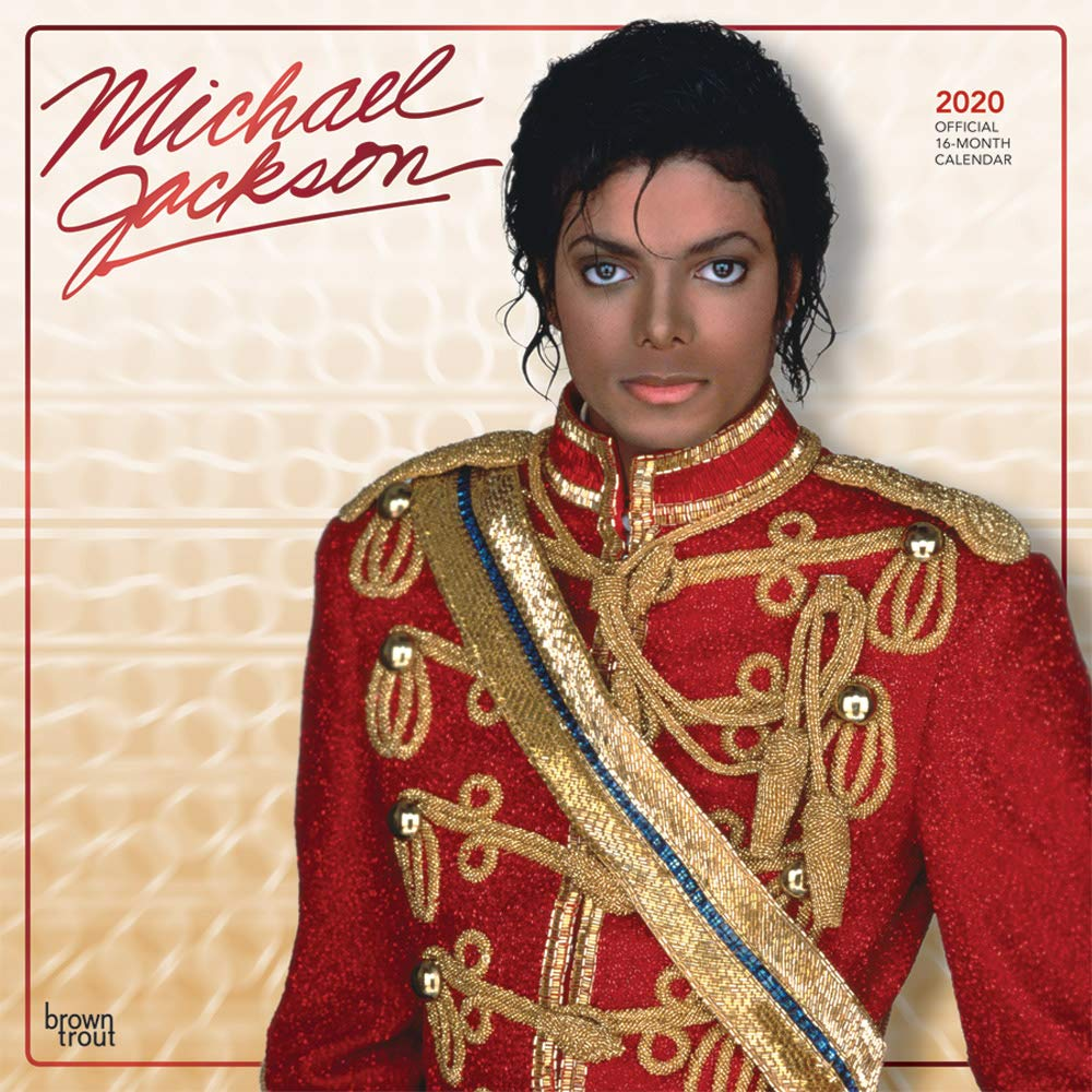 Michael Jackson Halloween Special 2020 Michael Jackson 2020 12 x 12 Inch Monthly Square Wall Calendar
