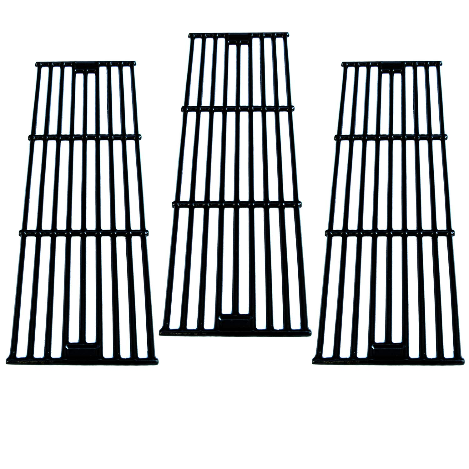 Direct store Parts DC114 (3-Pack) Porcelain Cast Iron Cooking Grid Replacement Chargriller, King Griller Gas Grill (3) by Direct Store