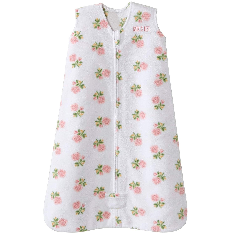 Halo Sleepsack Microfleece Wearable Blanket, Rose Art Pink, Small