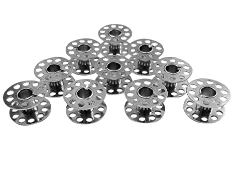 Runner Tools 10 bobinas de Metal para Singer Tradition 2250, 2253 2259, 2263,