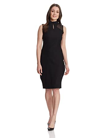 e32770ee4 Miss Chase Women s Polyester Bodycon Dress  Amazon.in  Clothing ...