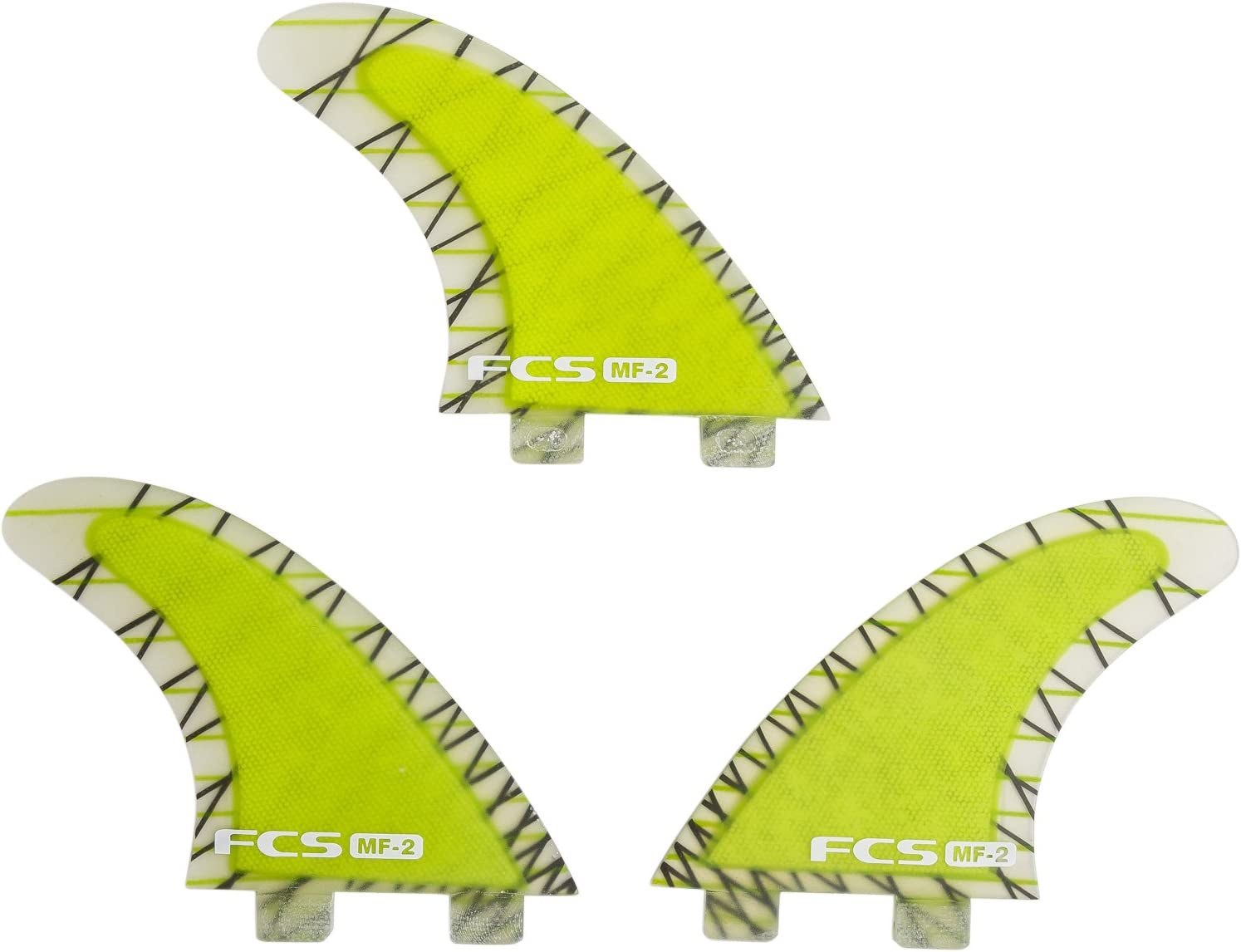 FCS/エフシーエス MF-2 PERFORMANCE CORE/ミックファニング パフォーマンスコア トライフィンセット サーフィン用