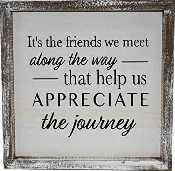 my party suppliers wooden frame friendship quotes friends