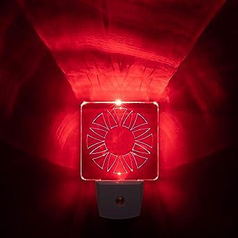 Amazon.com: Luz nocturna LED roja – BioRhythm Safe(TM) para ...