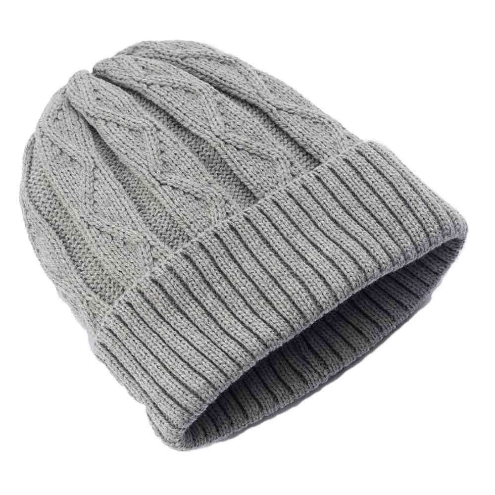 Urban Pipeline Men Cable Knit Beanie Grey One Size YUP53CW05 at Amazon  Men s Clothing store  1492c0db2696