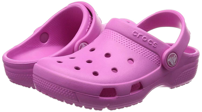 Party Pink 1 M US Little Kid Toddler//Little Kid Crocs Kids Unisex Coast Clog