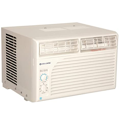Cool Living 5,000 BTU 9 7 EER 115V Window Mount Room Air Conditioner AC Unit