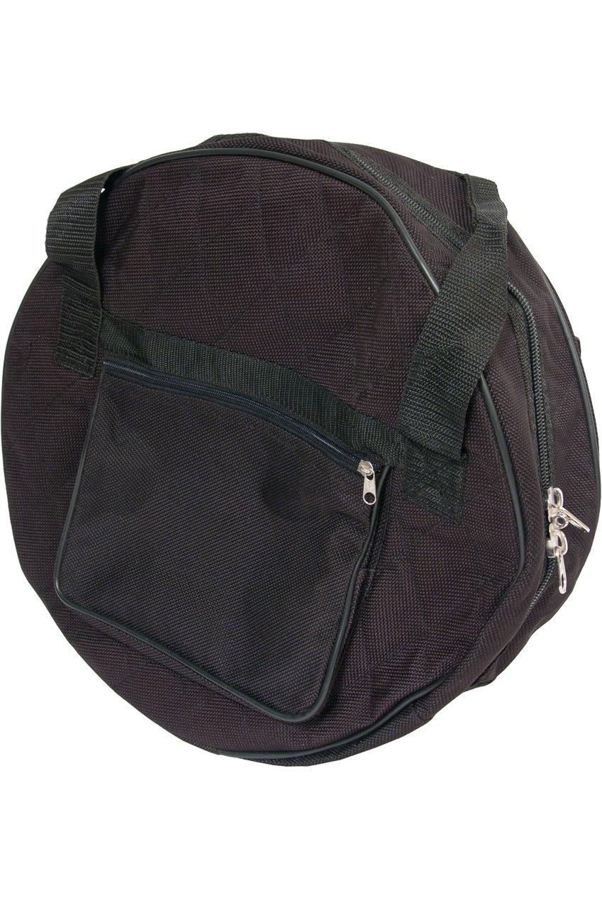Tunable pandereta 13 pulgadas Deluxe Paquete W/funda, bolsa y ...
