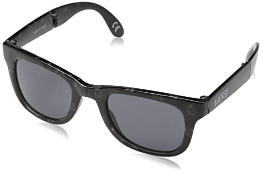 Vans Herren Sonnenbrille Foldable Spicoli Shades, Schwarz (tonal Palm-Dark Smoke M5w)