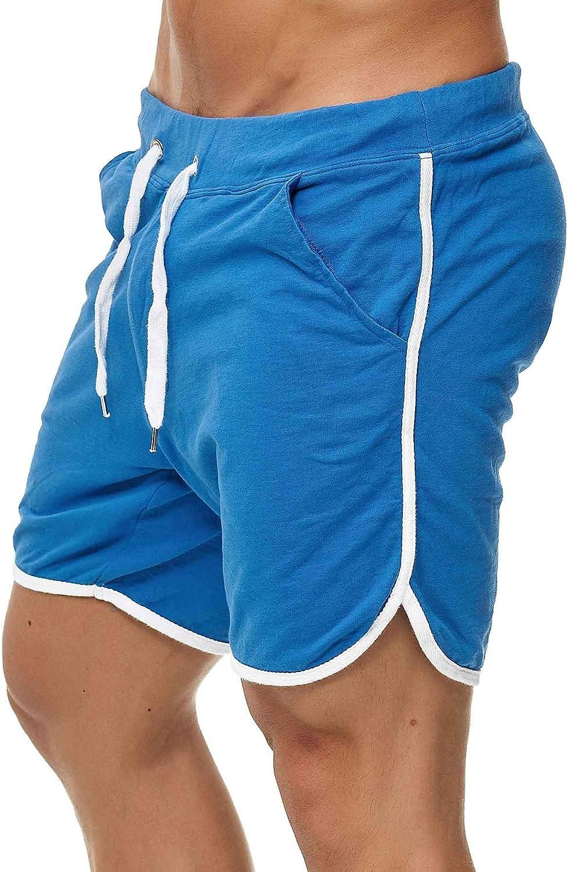 Happy Clothing Abbigliamento Pantaloni corti uomo Shorts Bermuda Pantaloni tuta sportiva Pantaloni estivi Pantaloni Pantaloni Tessuto Pantaloni Sweatpants