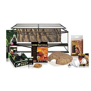 Exo Terra Kit Pogona Terrarium Equipe Amazon Fr Animalerie