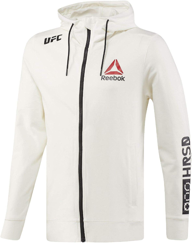 Reebok UFC FK Blank Walkout Hood Sudadera, Hombre: Amazon.es ...
