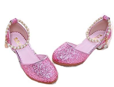 best cheap 55ffe 249f9 WLITTLE Mädchen Prinzessin Schuhe Sandalen Frozen Schuhe ...