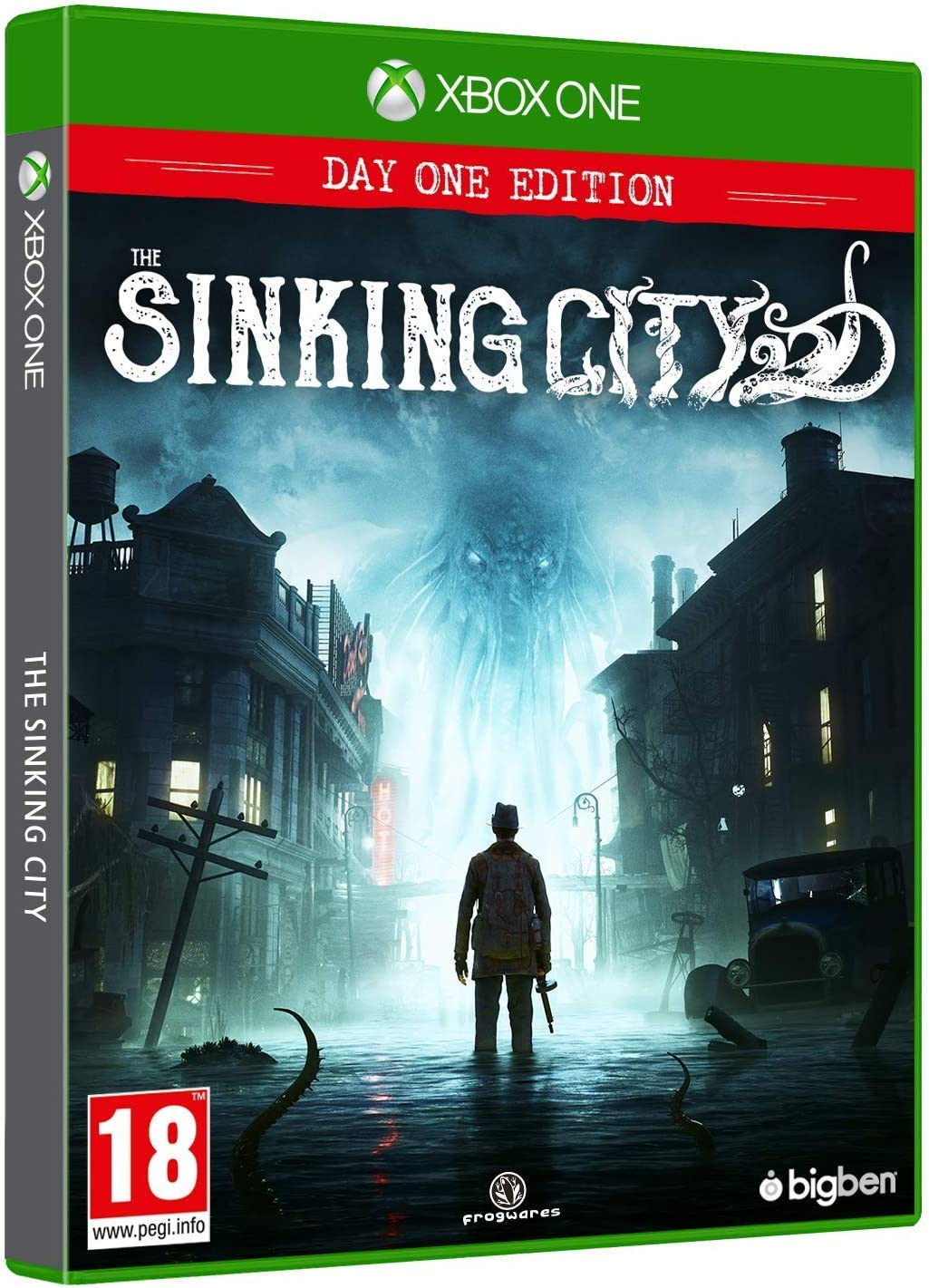 The Sinking City: Day One - Edition PS4 [Versión Española]: Amazon.es: Videojuegos