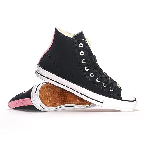 f458f46ca7f5 Converse CTAS Pro Hi Black Pink Glow 155515C