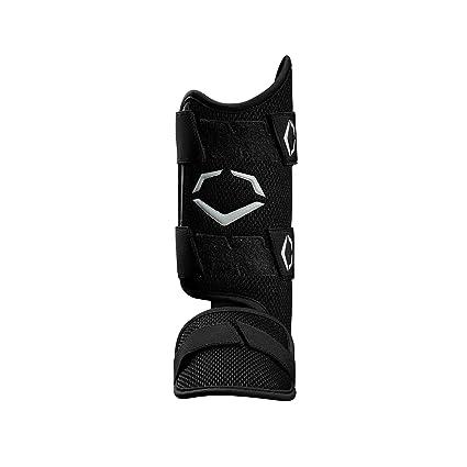 online retailer f6fa2 170e9 EvoShield PRO-SRZ Batter s Leg Guard, Black - Left-Handed Hitter