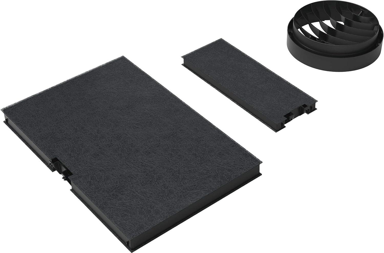 Bosch DWZ0AK0T0 Filtro accesorio para campana de estufa - Accesorio para chimenea (Filtro, Negro, Carbono, 1 kg, 350 mm, 460 mm)