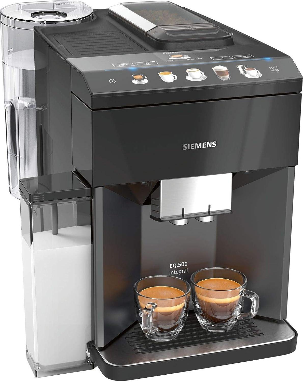 Siemens EQ.500 integral Independiente Máquina espresso Negro ...