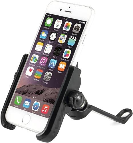 ZGBZZ Soporte para teléfono móvil de bicicleta, Soporte para navegación GPS, Soporte para teléfono móvil de bicicleta de montaña, Soporte para teléfono móvil de motocicleta, Soporte para bicicleta PGS, Aleación de aluminio: