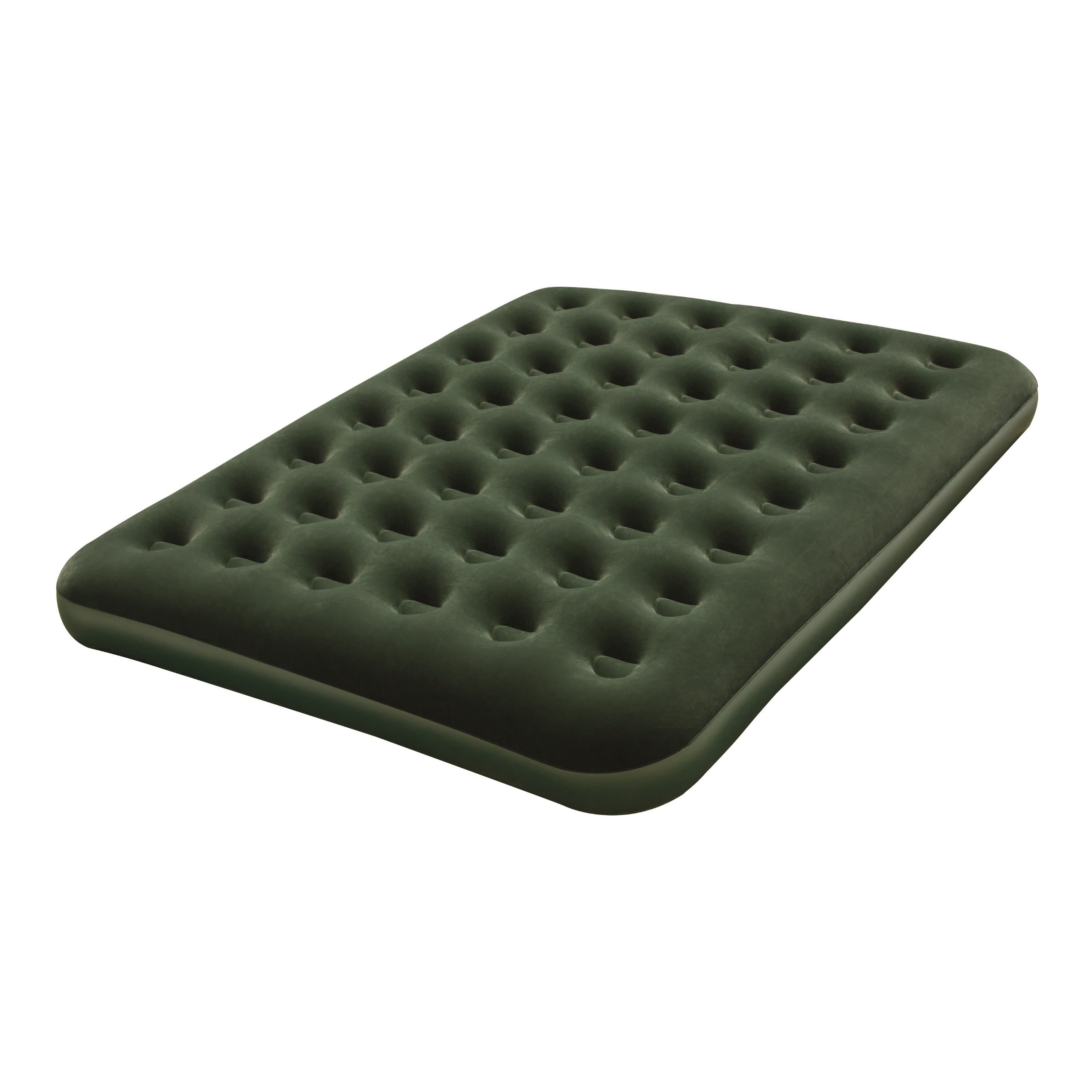Bestway Queen Flocked Air Bed with Battery Pump