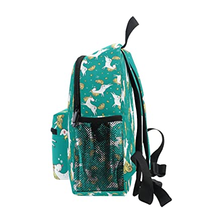 d97e5166bdd Amazon.com   ZZKKO Cute Magic Unicorn Kids Backpack School Book Bag for  Toddler Boys Girls   Kids  Backpacks