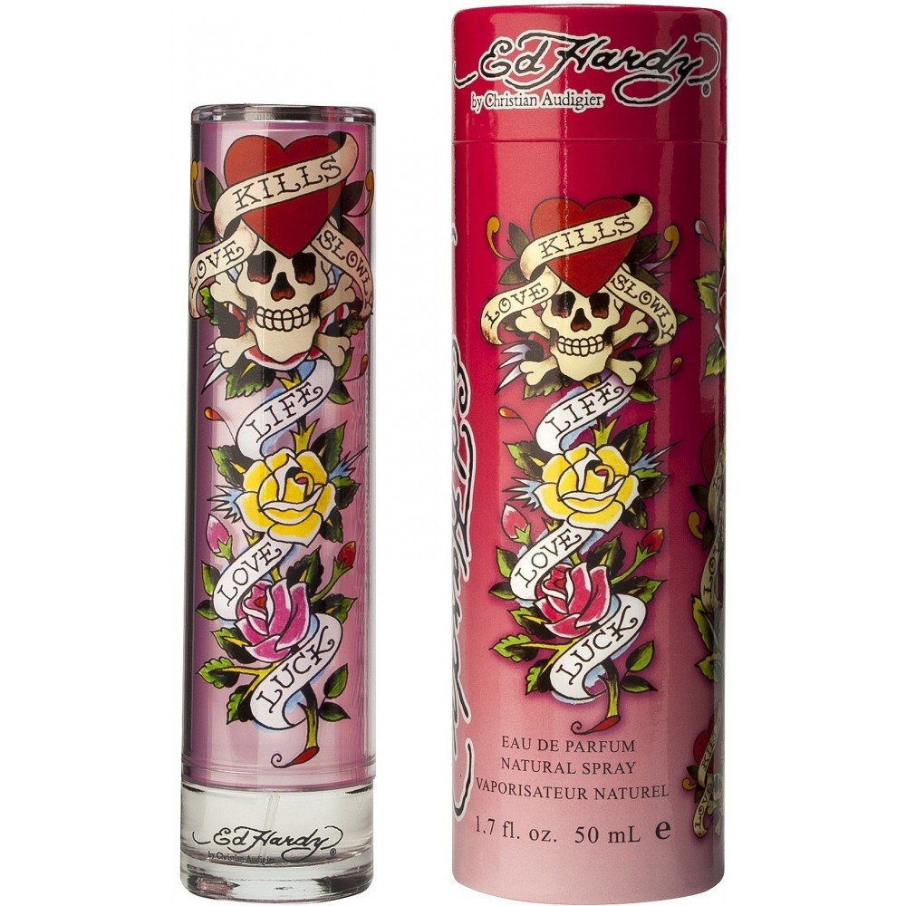 Ed Hardy For Women 3 4 Oz Edp Spray: Amazon.com: ED HARDY LOVE & LUCK By Christian Audigier EAU DE PARFUM SPRAY 1.7 OZ For WOMEN
