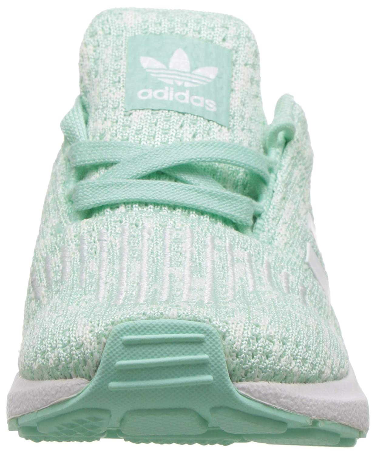 online store 39e52 ccb3b adidas Originals Baby Swift Running Shoe, Clear Mint White aero Blue, 6K M  US Toddler  Amazon.co.uk  Shoes   Bags
