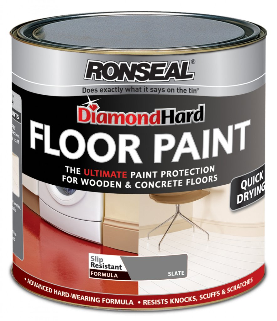 Ronseal Diamond Hard Floor Paint 750ml Slate ASINOAUK30K