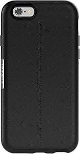 OtterBox Strada Leather Series Case for iPhone 6s & iPhone 6 (NOT Plus) - Retail Packaging - Black Onyx