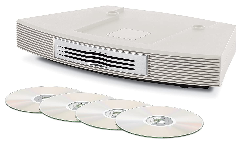 Bose Wave Music System Multi-CD Changer, Platinum White