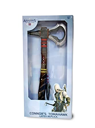 Amazon com: Assassin's Creed III Tomahawk Replica Axe