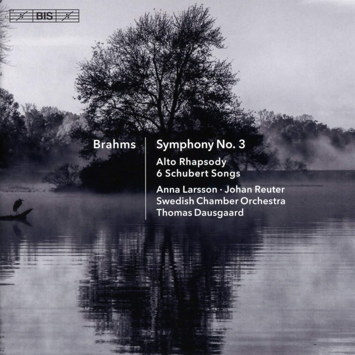 SACD : Brahms - Symphony 3 /  Alto Rhapsody /  6 Schubert Songs (Hybrid SACD)
