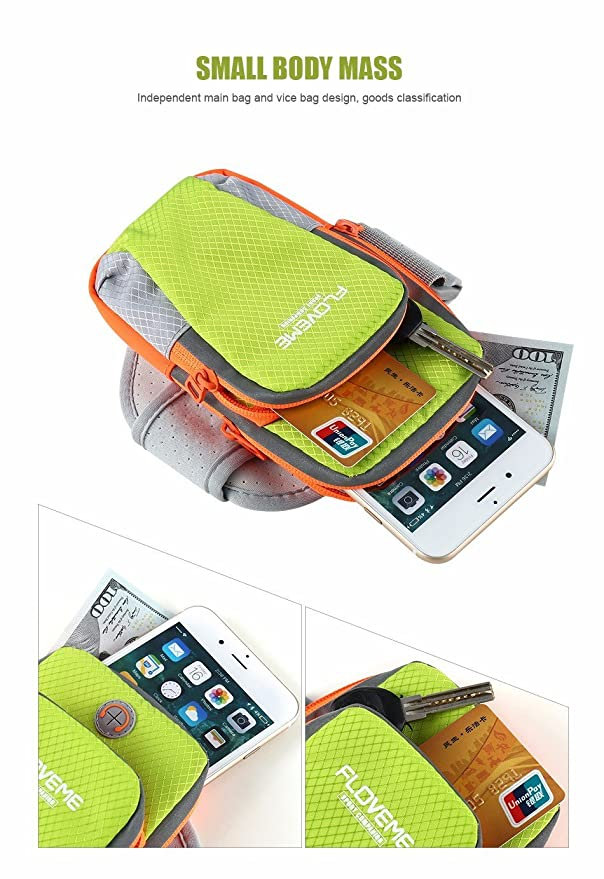 Outbolt Sporty Smartphone Holder Bag with Waterproof: Amazon in