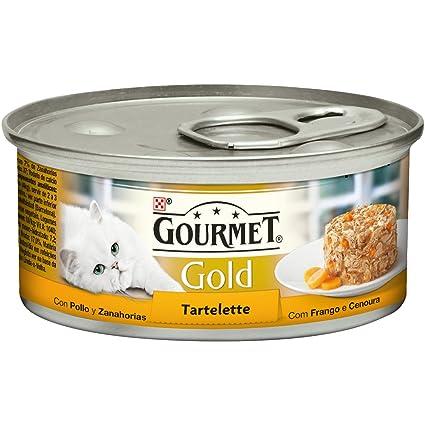 Gourmet - Gold Alimento para gatos Tartalette con Pollo y Zanahoria, 85 g
