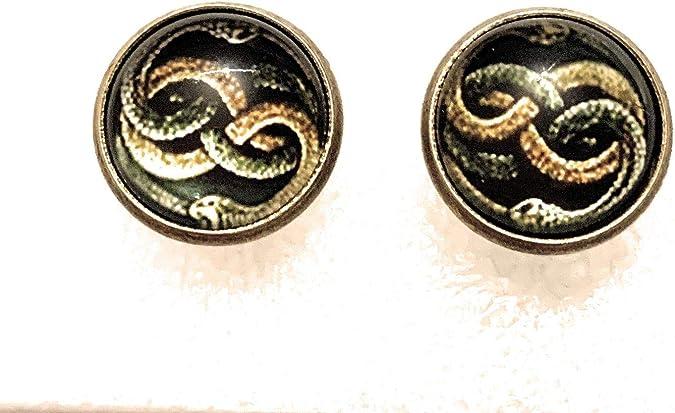 Collana lunga con ciondolo Serpenti da donna uomo per fantasy in serpente
