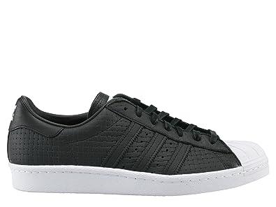 Adidas Superstar 80s Woven - Age - Adulte, Couleur - Noir, Genre - Femme, Taille - 36