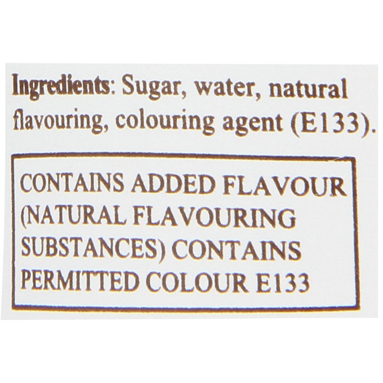 Monin Blue Curacao Syrup 250ml Grocery Gourmet Foods Punjabi Punch 250gr