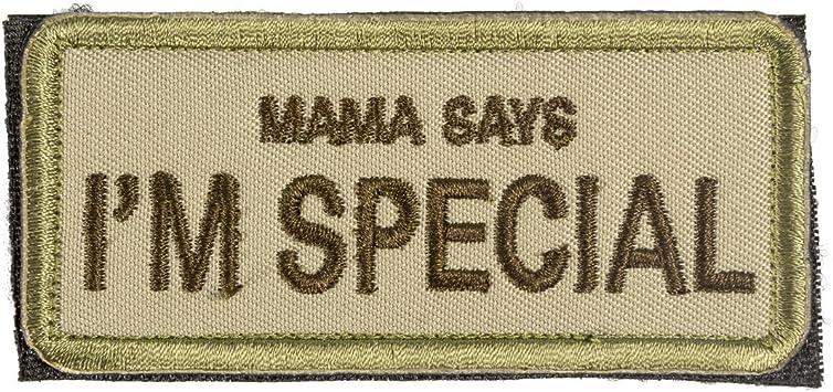 OneTigris Moral Patch parche de velcro bordado táctico., Mama Says ...