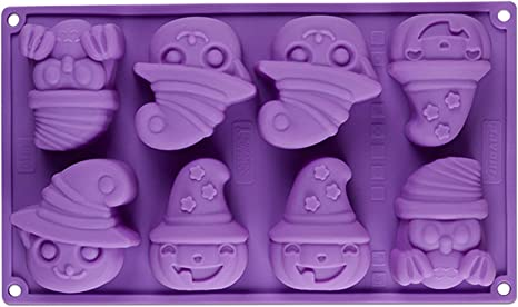 Large Ghost mold candle bath bomb mold chocolate plastic soap