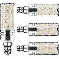 Ampoule Led Ampoule 15W LED Maïs 1500Lm 6000K Candélabre Ampoules équivalent 120W Lustre décoratifs non dimmable (Lot de 4)