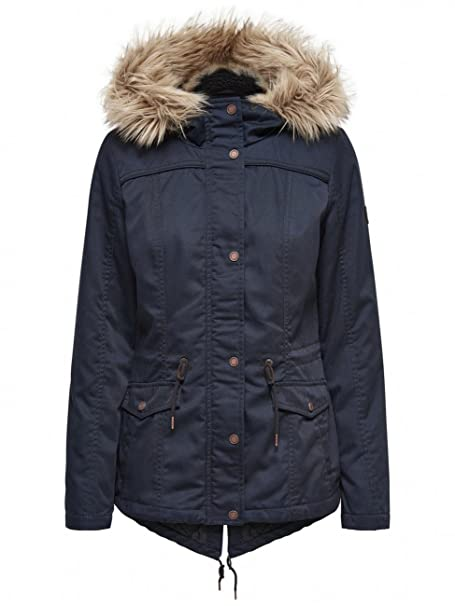 ONLY Onlkate Short Canvas Parka Otw , Chaqueta Para Mujer, ,